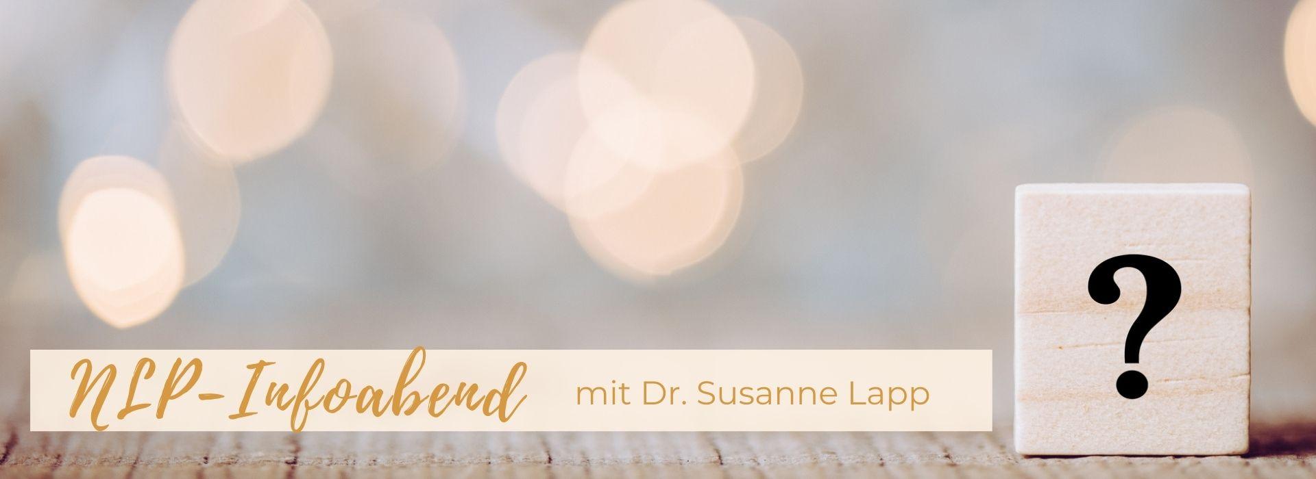 Online-Info-Abend Systemische Ausbildung zum NLP-Practitioner-/Coach 2021 - 10. März '21